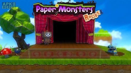 paper monsters: recut