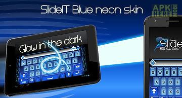 Slideit blue neon skin