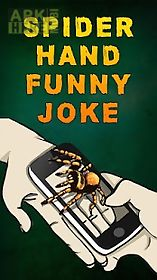 spider hand funny joke
