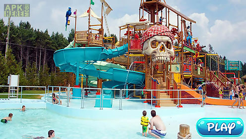 water park :water stunt & ride