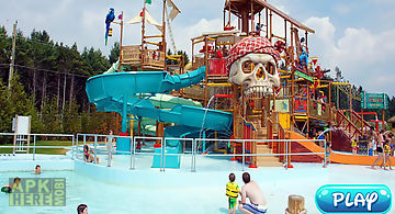 Water park :water stunt & ride