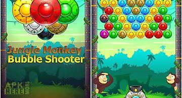 Jungle monkey bubble shooter