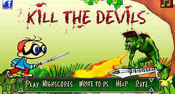 Kill the devil action game
