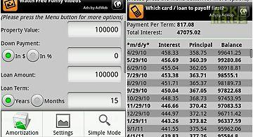 Mortgage auto loan calculator