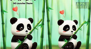 Panda Go Launcher Theme