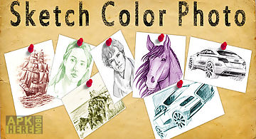 Sketch color photo