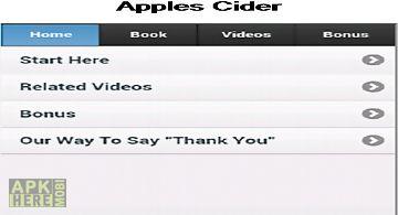 Apples cider