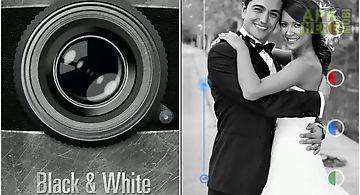 Black and white camera