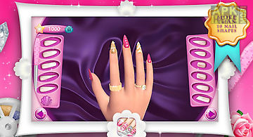 Fashion nails 3d girls game
