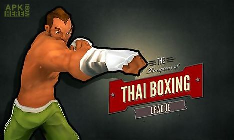 the champions of thai boxing league