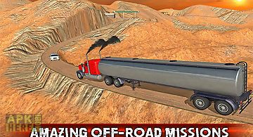 Truck driver offroad 2016
