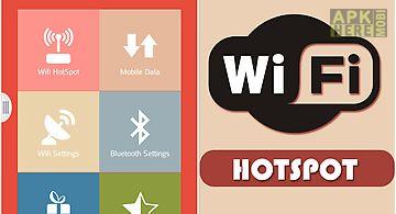 Wifi hotspot tethering