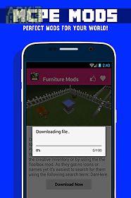 furniture mod installer minecraft pe