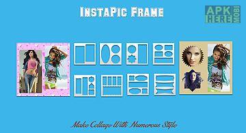 Instapic frame