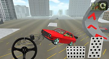 Old model car drift 3d 2014