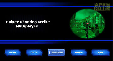Sniper shooting : multiplayer