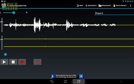 Twotrack audio recorder free for Android free download at