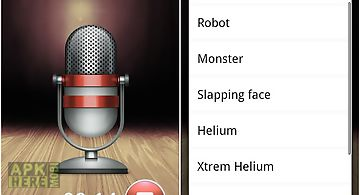 Voice changer recorder for Android free download at Apk Here