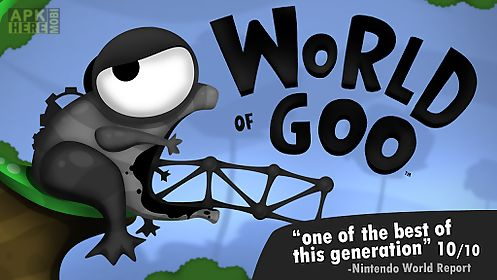 World of goo for Android free download at Apk Here store
