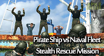 Pirate ship vs naval fleet: stea..