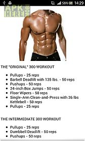 body 300 workouts