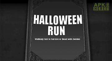 Halloween fun run - walking dead..