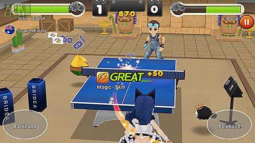 king of ping pong: table tennis king