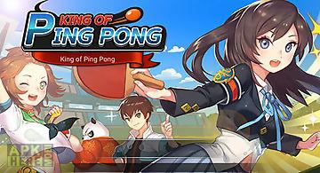 King of ping pong: table tennis ..