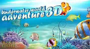 Underwater world adventure 3d