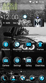 Black bmw theme for Android free download at Apk Here store