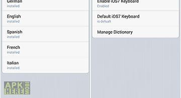 Emoji keyboard english dict