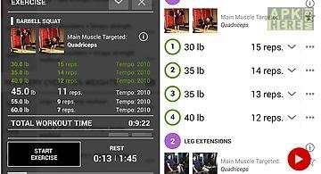 Fit log : fitness workout log