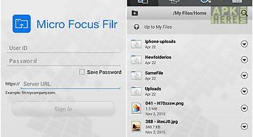 Micro focus filr
