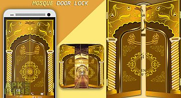 Mosque door lock