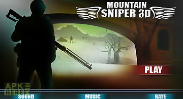Mountain war modern sniper 3d