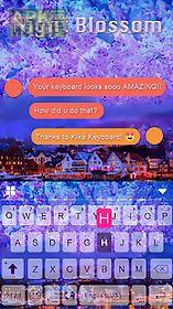 night blossom keyboard theme