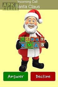 santa calls on christmas