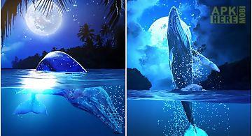 Whale moon trial