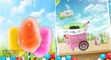 Make food: cotton candy