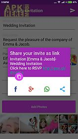 Wedding invitation card maker for android free download at apk here wedding invitation card maker wedding invitation card maker stopboris Choice Image