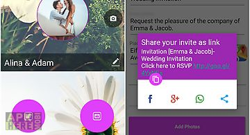 Yuvite invitation creator for android free download at apk here wedding invitation card maker stopboris Image collections