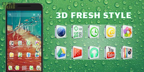 3d fresh style - solo theme