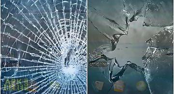 Broken screen: crack screen