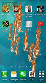 fire screen - crack screen