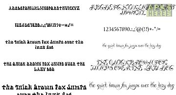Fonts for flipfont tattoo
