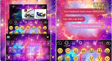 Galaxy2 emoji ikeyboard theme