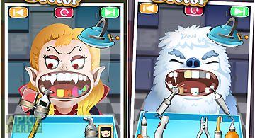 Monster doctor - kids games