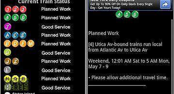 Nyc train status