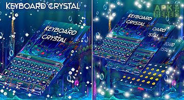 Crystal sea keyboard