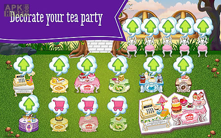 ever after high™tea party dash